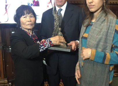 英議会内でライダイハン問題集会 ノーベル平和賞のムラド氏も訴え